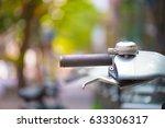 bicycle handbreak | Shutterstock . vector #633306317