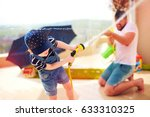 excited young boy having fun ...   Shutterstock . vector #633310325
