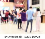 blur of people in the movie... | Shutterstock . vector #633310925