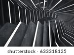 empty dark abstract concrete... | Shutterstock . vector #633318125