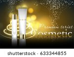 essense and a cream for skin... | Shutterstock .eps vector #633344855