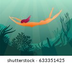 a beautiful vector illustration ... | Shutterstock .eps vector #633351425