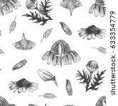 flowers bud botany graphic art... | Shutterstock .eps vector #633354779