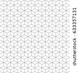 isometric abstract background ... | Shutterstock .eps vector #633357131
