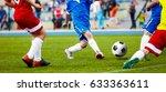 football soccer match for... | Shutterstock . vector #633363611
