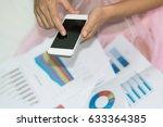 stock checking by girl   Shutterstock . vector #633364385