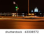 car passes on the red signal of ... | Shutterstock . vector #63338572