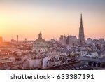 vienna skyline with st. stephen'... | Shutterstock . vector #633387191
