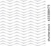 vector grey wavy pattern.... | Shutterstock .eps vector #633388475