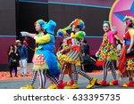 women is wearing  joker cloth... | Shutterstock . vector #633395735