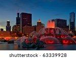 Chicago Grant Park  Buckingham...