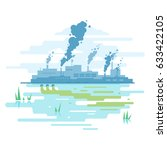 Industrial Pollution Of Nature