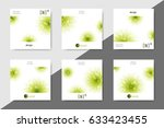 set of minimalistic spa and... | Shutterstock .eps vector #633423455