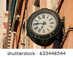 venice street clock | Shutterstock . vector #633448544