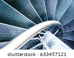 spiral staircase at a modern