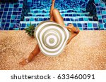 summer holiday fashion concept  ... | Shutterstock . vector #633460091