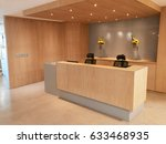 reception area of modern office ... | Shutterstock . vector #633468935