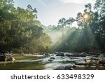 view of endau rompin national... | Shutterstock . vector #633498329