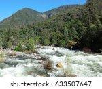 The Scenic Rapids Of Merced...