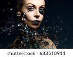 Beauty Portrait With Water...