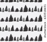 hand drawn doodle pattern into...   Shutterstock .eps vector #633518651