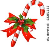 Christmas Candy Cane Decorated...