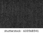 recycled black corrugated... | Shutterstock . vector #633568541