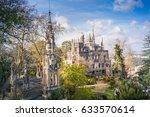 quinta da regaleira. natural... | Shutterstock . vector #633570614
