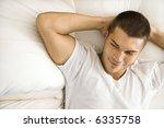 handsome caucasian mid adult... | Shutterstock . vector #6335758
