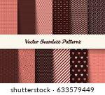 seamless vector geometric... | Shutterstock .eps vector #633579449