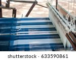textile industry   weaving and...   Shutterstock . vector #633590861