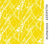 sunny dotted abstract pattern.... | Shutterstock .eps vector #633595754