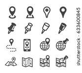 location icon   Shutterstock .eps vector #633600845