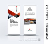 abstract business vector set of ... | Shutterstock .eps vector #633613415