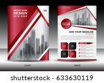 business brochure flyer... | Shutterstock .eps vector #633630119
