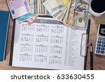 Euro And Dollar Bills ...