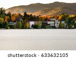 Sunset Over Lake Placid In...