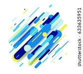 vector illustration of dynamic... | Shutterstock .eps vector #633635951