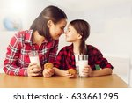 happy family. | Shutterstock . vector #633661295