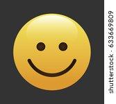 emoticon  icon  emoji isolated... | Shutterstock .eps vector #633669809