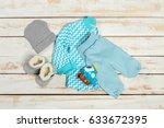 children's wear   Shutterstock . vector #633672395