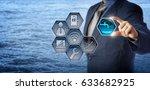 blue chip civil engineer... | Shutterstock . vector #633682925