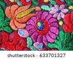 multicolor traditional...   Shutterstock . vector #633701327