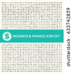 business and finance icon set... | Shutterstock .eps vector #633742859