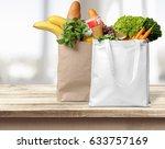 groceries.   Shutterstock . vector #633757169