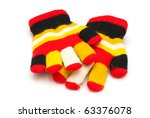 Children Gloves Isolated On A...