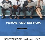 vision and mission inspiration... | Shutterstock . vector #633761795
