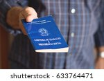 brazilian document work | Shutterstock . vector #633764471