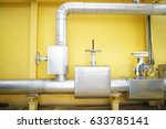 insulation for pipe heating in... | Shutterstock . vector #633785141