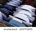 long sleeve shirts  in a... | Shutterstock . vector #633791855